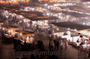 The Food stalls of D'jemaa el Fna