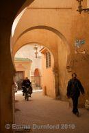 Quiet passage in the Medina