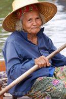 Trader at Tha Kha Market