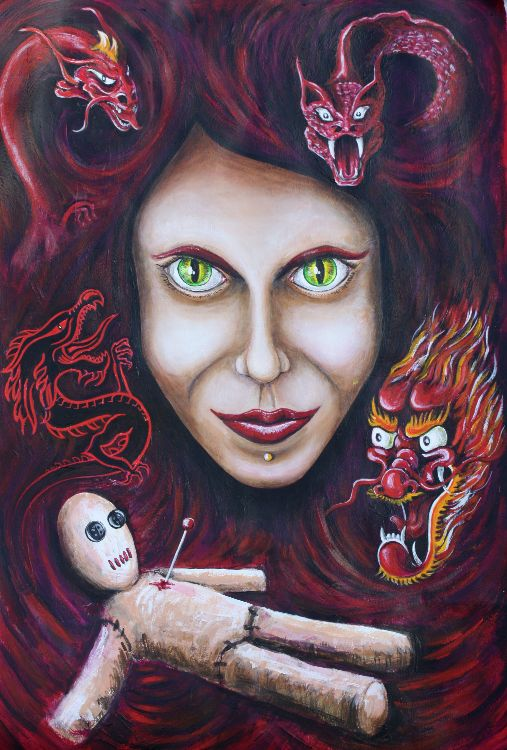 Curse Of The Dragon Lady  £200