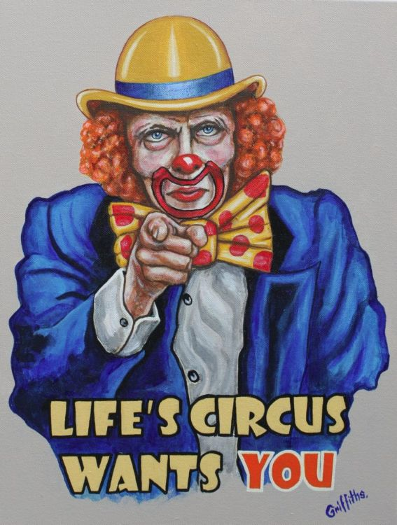Lifes Circus Needs You £300