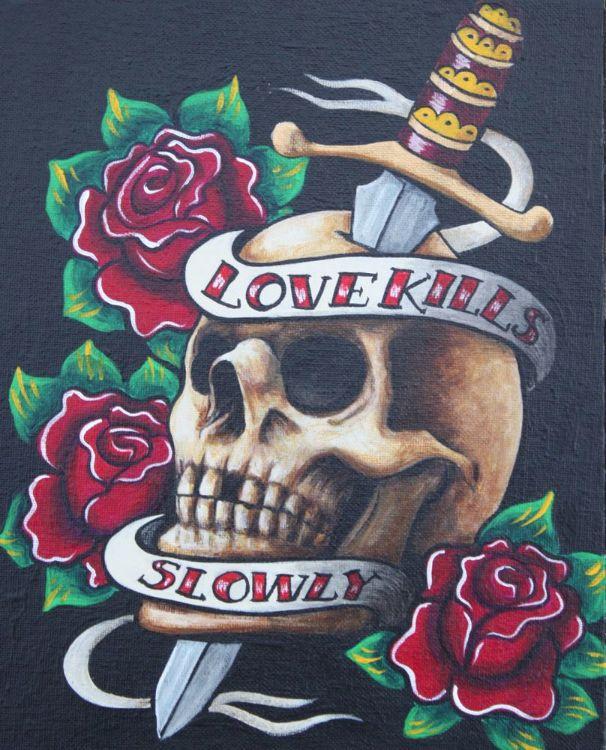 Love Kills Slowly  £50