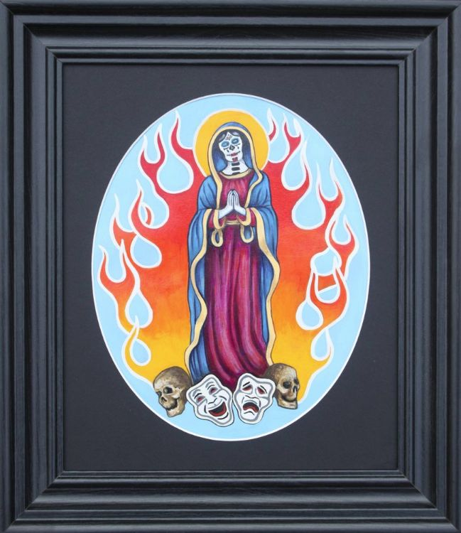 Santa Muerte £50