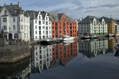 Reflections on Alesund