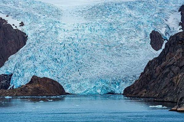 Glacier Pince William Sound, Greenland
