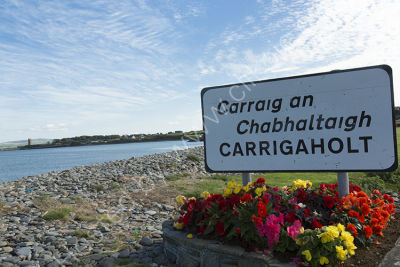 Carrigaholt Sign and New Pier