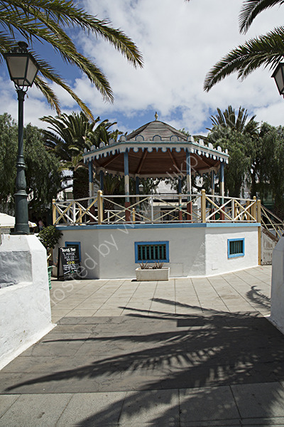 Band Stand Costa Teguise.