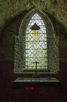 Church window Caldey Island