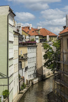Side river Prague