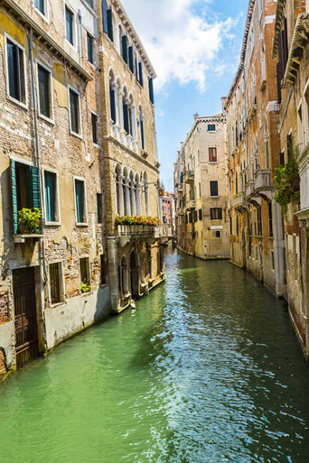 Canal side living Venice