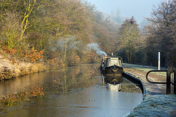 Winter on Canals