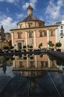 Church Reflection Valencia