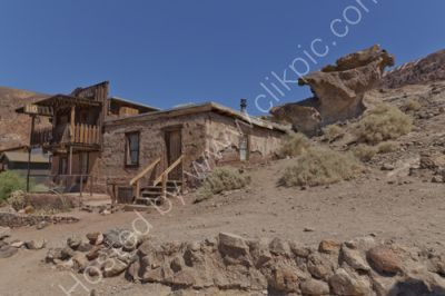 Hotel in Calico ghost town