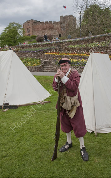 """Tamworth Castle and """"Soldier"""""""