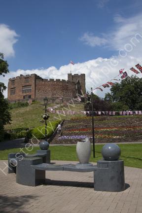 Tamworth Castle and Mercian Regiment Memorial
