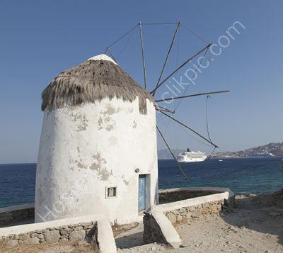 Wind Mill Mykonos greece