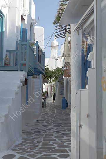 Side street Mykonos