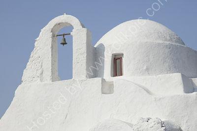 Bell tower Church Mykonos
