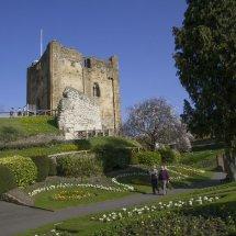 Guildford Castle Keep & Grounds ,Surrey England ,Spring 2014