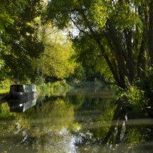 Basingstoke Canal , Hampshire , England