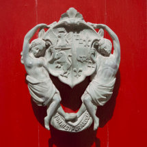 Ornate Door Knocker.
