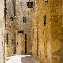 Street scene Mdina,