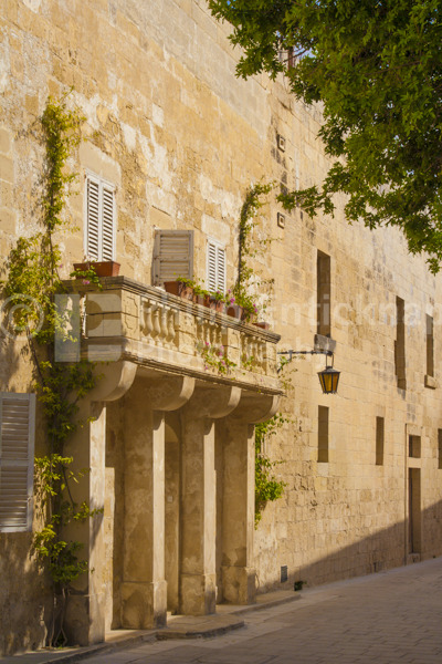 Typical Maltese architecture.
