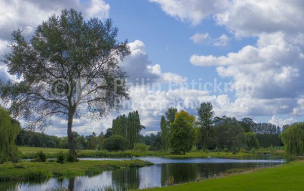 River Loddon,Hampshire, England