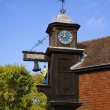 Abinger Hammer  Village Blacksmith Clock