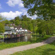The River Wey , Guildford Surrey