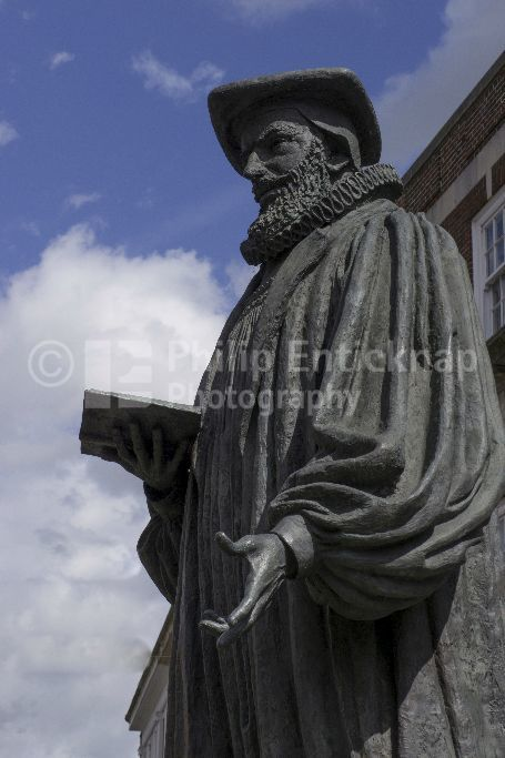 George Abbot statue Guildford, Surrey