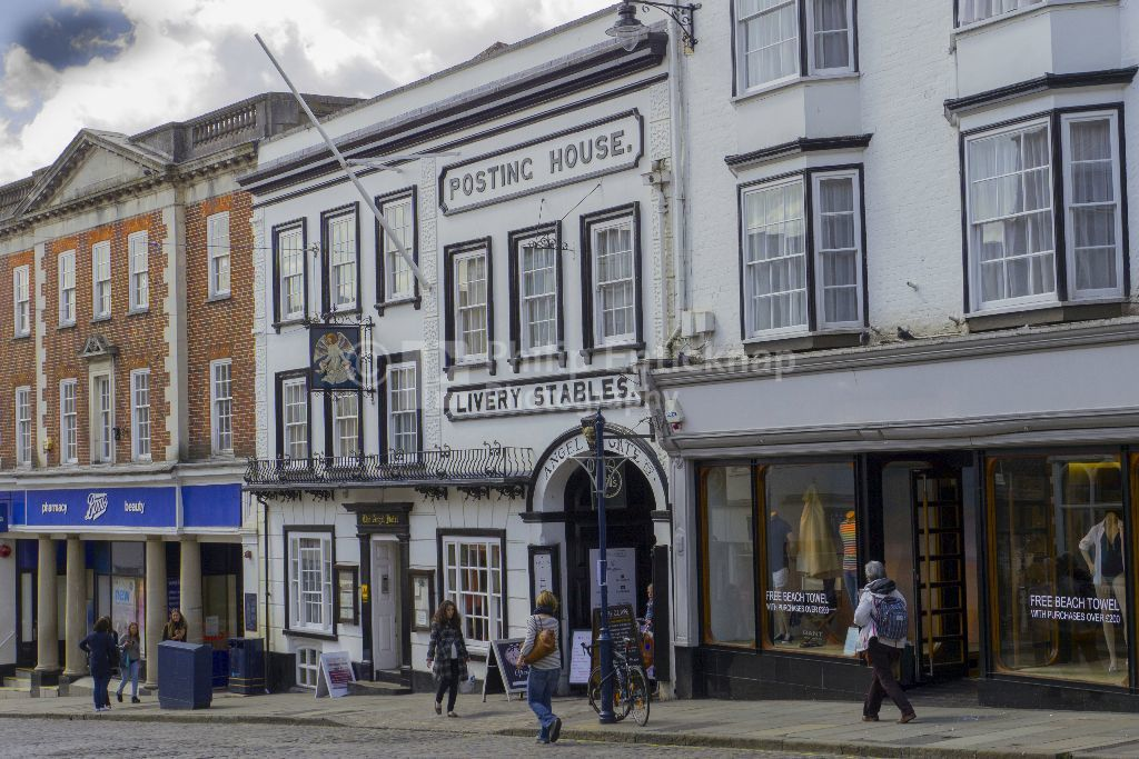 Angel Hotel,High Street Guildford , Surrey 2015