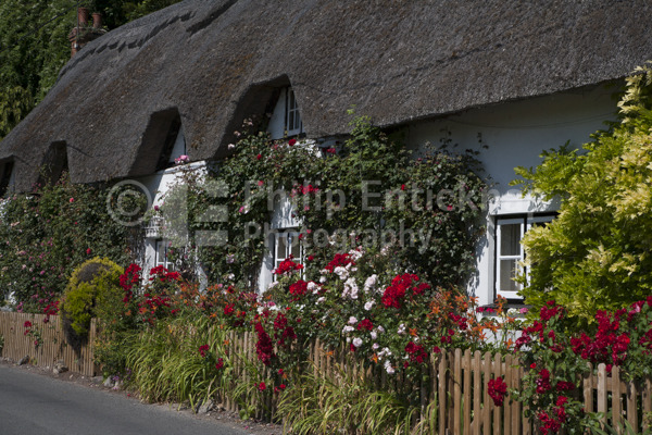 Thatched Cottage,Wherwell,Hampshire ,England.