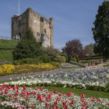 Guildford Castle Keep & Grounds ,Surrey England