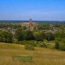 View to Guildford Cathedral