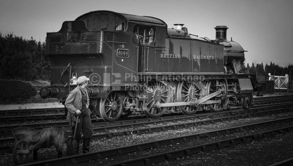 '5101' class 2-6-2T 'large prairie' locomotive No 4144