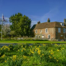 Jane Austen's House,Chawton ,Hampshire ,England.