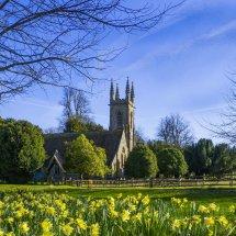 Springtime St Nicholas Church ,Chawton