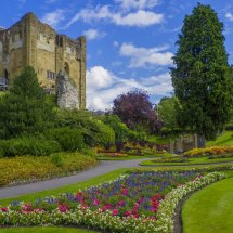 Guildford Castle Keep & Grounds ,Surrey England