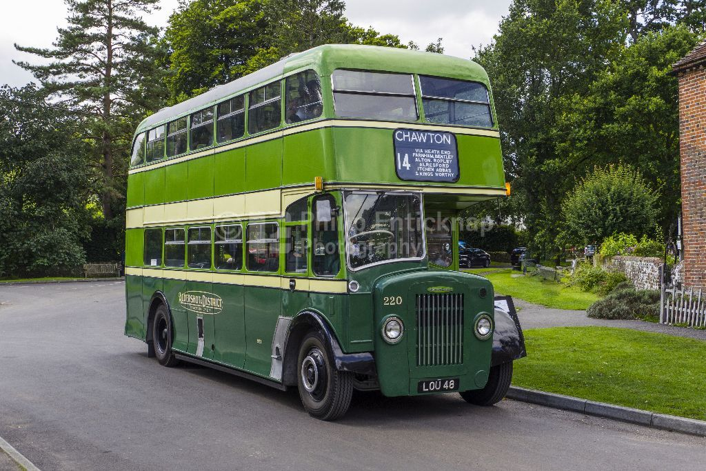 Vintage Aldershot & District Bus