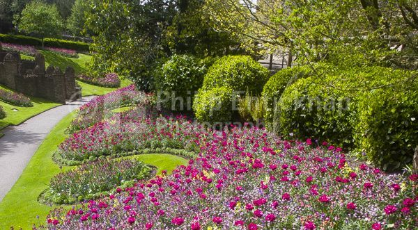 Guildford Castle Grounds Surrey England.May 2018