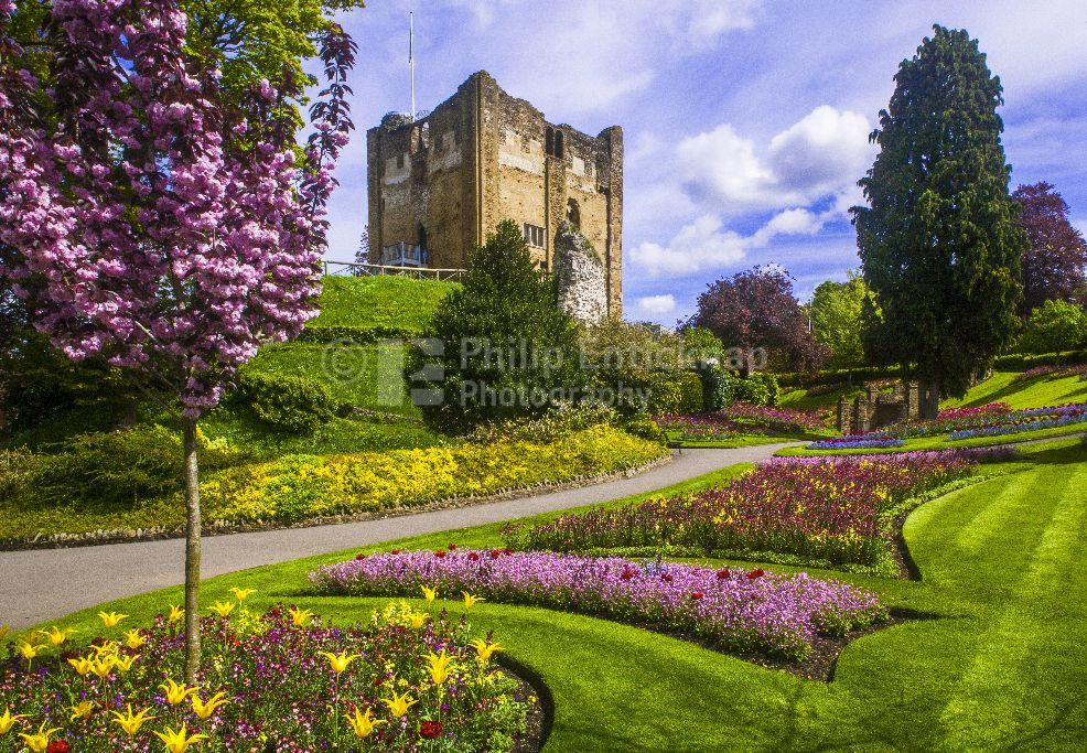 Guildford Castle Keep & Grounds ,Surrey England May 2018