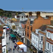 Guildford  High Street Farmers Market
