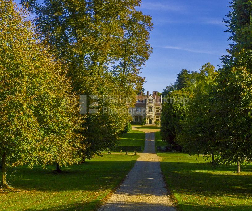 Autumn at Chawton House , Chawton ,Hampshire