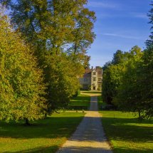 Autumn at Chawton House , Chawton ,Hampshire
