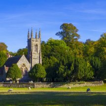 St Nicholas Church ,Chawton near Alton Hampshire. Autumn 2018