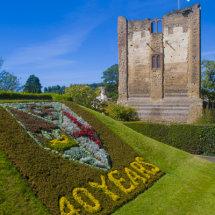 40th Anniversary twinning flowerbed