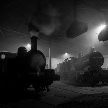 Barrow Hill Roundhouse ,Steam Locomotives