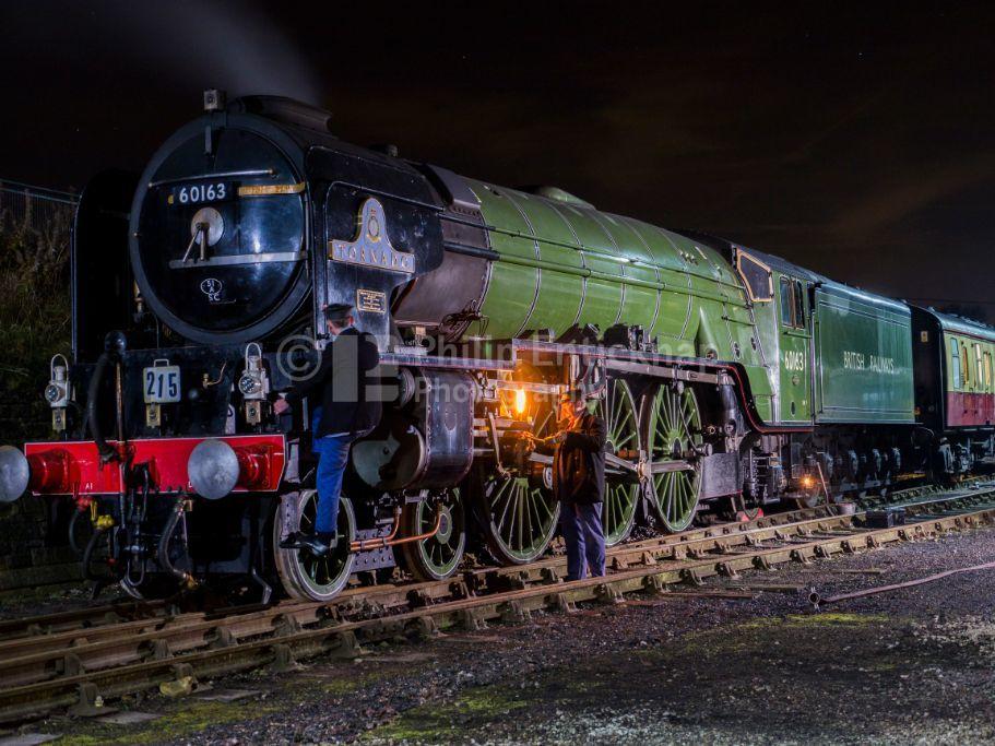 LNER Class A1 Peppercorn locomotive 60163 Tornado