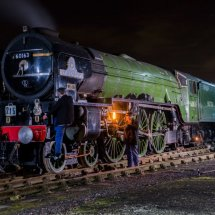 LNER Class A1 Peppercorn locomotive 60163 Tornado
